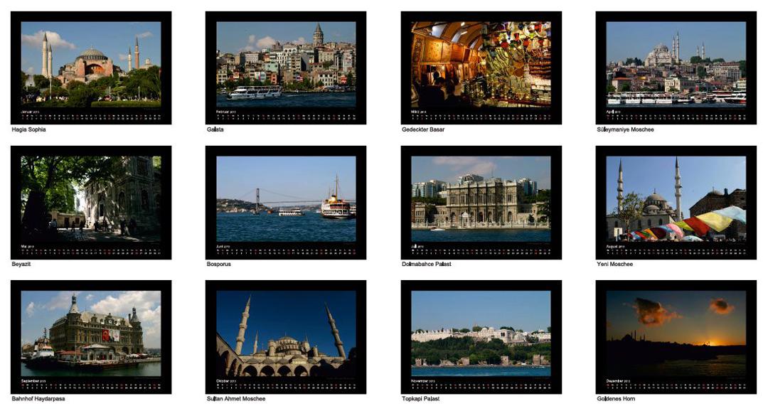 Istanbul Kalender