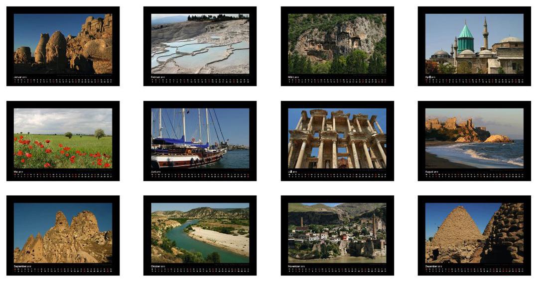 Türkei Kalender